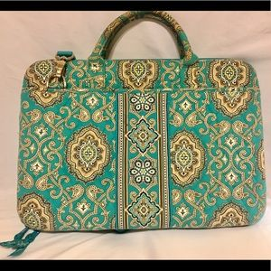 Vera Bradley Totally Turq (Turquoise) Laptop Case